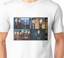 Librarians & the Magical Scenes of S2, pt II Unisex T-Shirt