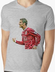 cristiano ronaldo champion Mens V-Neck T-Shirt