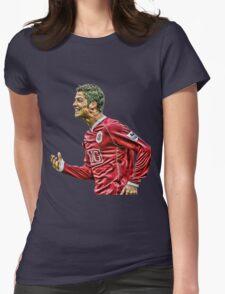 cristiano ronaldo champion Womens Fitted T-Shirt
