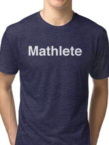 Mathlete Tri-blend T-Shirt