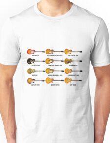 Gibson Les Paul Guitar Legends Unisex T-Shirt