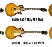 Gibson Les Paul Guitar Legends Sticker