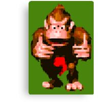 Donkey Kong Country - Thumbs Up Canvas Print