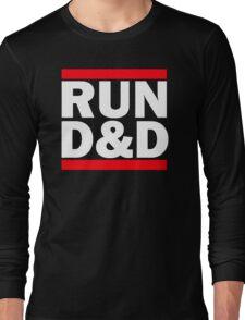 Run Dungeons and Dragons Long Sleeve T-Shirt