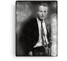 Paul Newman Hollywood Actor Canvas Print