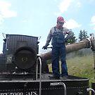 Water for steam engine 487 by nealbarnett