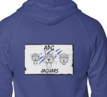 APG Jaguars 2016 Ripped Paper Zipped Hoodie