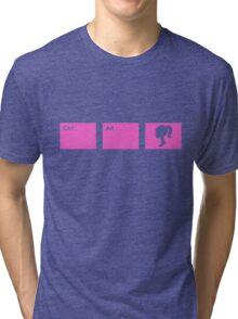 Ctrl - Alt - Barbie Tri-blend T-Shirt