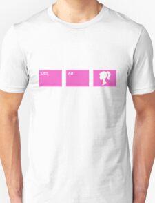 Ctrl - Alt - Barbie Unisex T-Shirt
