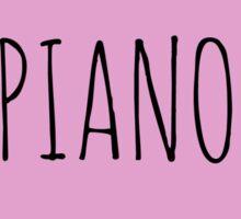 Piano Love Sticker