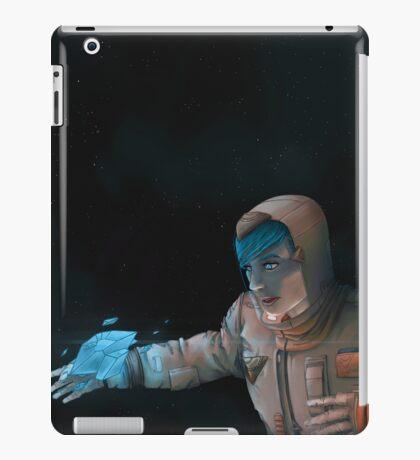 Super Cool Space Girl iPad Case/Skin
