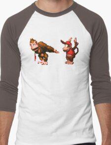 Donkey Kong Country - 5 Low Men's Baseball ¾ T-Shirt