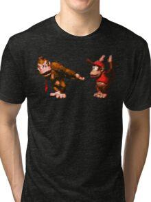 Donkey Kong Country - 5 Low Tri-blend T-Shirt