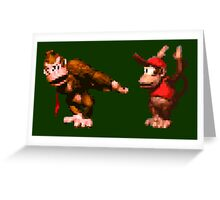 Donkey Kong Country - 5 Low Greeting Card