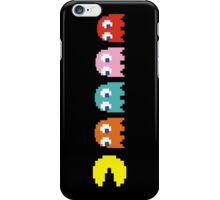 Pac Man and Ghosts iPhone Case/Skin