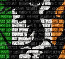 Irish Freedom Fist Flag  Sticker
