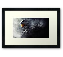 Halo Master Chief Framed Print