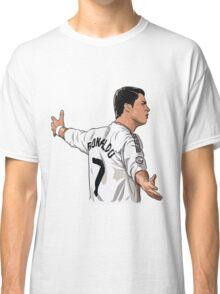 cristiano ronaldo cartoon Classic T-Shirt