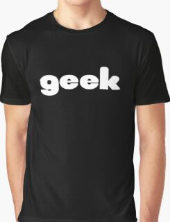 Geek T-Shirt Sticker Graphic T-Shirt