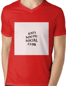 Anti Social Social Club Mens V-Neck T-Shirt