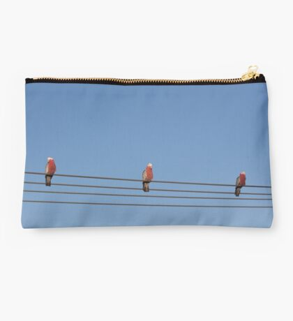 Bird on a wire. Studio Pouch