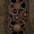 Infernal Steampunk Gears alternate version by Steve Crompton