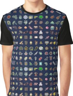Risk of Rain Items Graphic T-Shirt