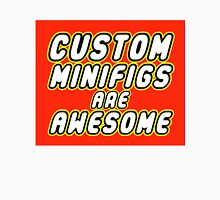 CUSTOM MINIFIGS ARE AWESOME Men's Baseball ¾ T-Shirt