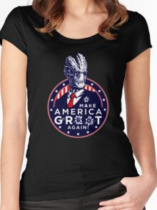 PRESIDENT GROOT Women's Fitted Scoop T-Shirt