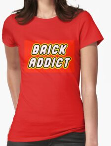 BRICK ADDICT  Womens Fitted T-Shirt