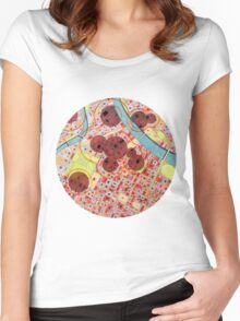 bombing Turin Women's Fitted Scoop T-Shirt