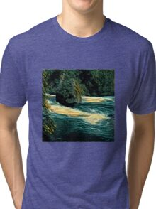 Rock in the river Tri-blend T-Shirt