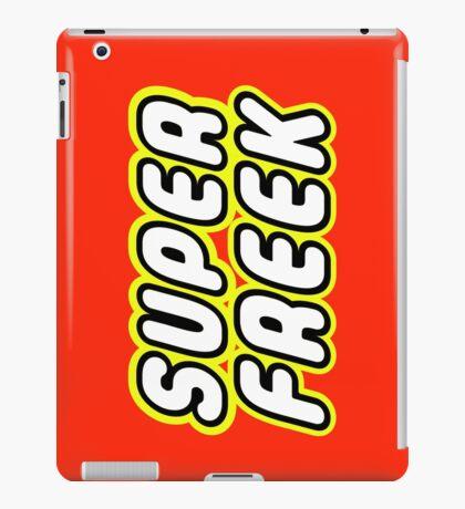 SUPER FREEK  iPad Case/Skin