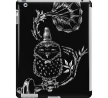 Pets I will not own - Owl iPad Case/Skin