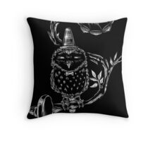 Pets I will not own - Owl Throw Pillow