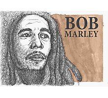 bobmarley scribble Photographic Print