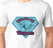 Hair Stylist Weapons Unisex T-Shirt