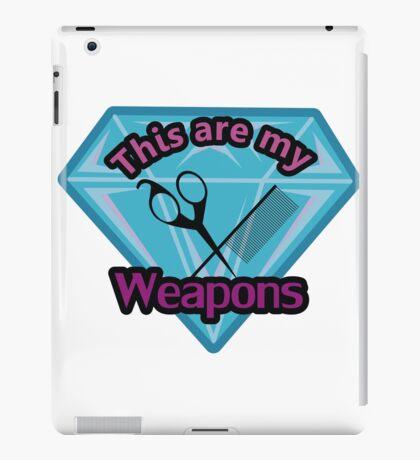 Hair Stylist Weapons iPad Case/Skin