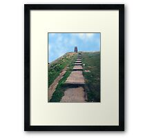 The Easy Way Up Framed Print