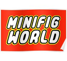 MINIFIG WORLD Poster