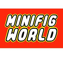 MINIFIG WORLD Photographic Print