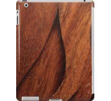 Beautiful Unique brown wood inlay marquetry veneer design iPad Case/Skin