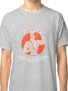 I WORKOUT SO I CAN EAT COOKIES Classic T-Shirt