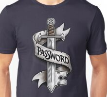 PasSword Unisex T-Shirt