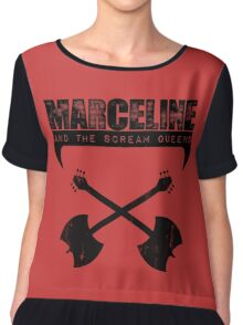 Marceline and the Scream Queens Chiffon Top