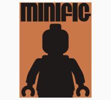 Retro Large Black Minifig, Customize My Minifig Baby Tee