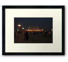 Tiananmen Square Beijing - China 2006 Framed Print