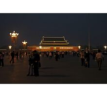 Tiananmen Square Beijing - China 2006 Photographic Print