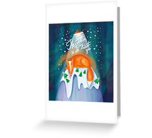 Winter story Greeting Card