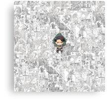 Attack On Titan - Levi Canvas Print